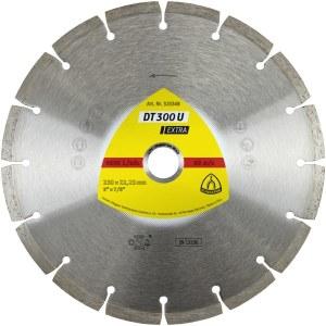 Timanttikatkaisulaikka kuivaleikkaukseen Klingspor DT 300 U Extra; 230x2,3x22,23 mm