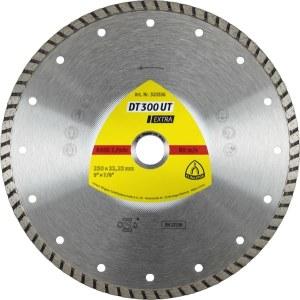 Timanttilevy märkäleikkaukseen Klingspor DT 300 UT Extra; 230x2,5x22,23 mm