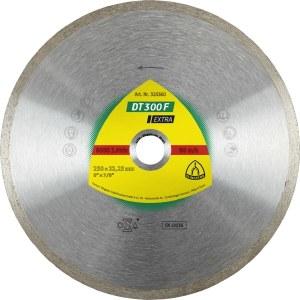Timanttilevy märkäleikkaukseen Klingspor DT 300 F Extra; 200x1,9x30,0 mm