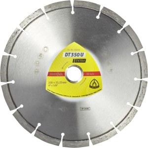 Timanttikatkaisulaikka kuivaleikkaukseen Klingspor DT 350 U Extra; 300x2,8x20,0 mm