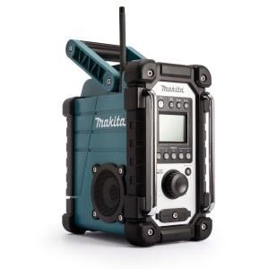 Radio Makita DMR107; 7,2-18V (ilman akkua ja laturia)