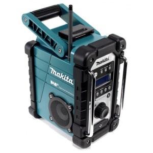 Radio Makita DMR110 DAB+; 7,2-18 V (ilman akkua ja laturia)