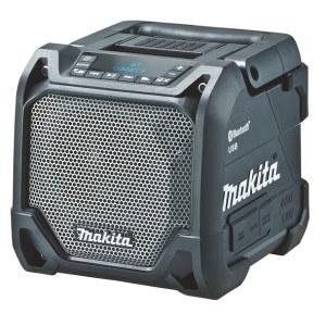 Bluetooth®-kaiutin Makita DMR202; 12-18 V Musta; (ilman akkua ja laturia)