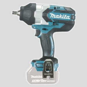 Iskumutterinväännin Makita DTW1002Z; 18 V (ilman akkua ja laturia)
