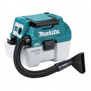 Pölynimuri Makita DVC750LZ; 18 V; HEPA (ilman akkua ja laturia)