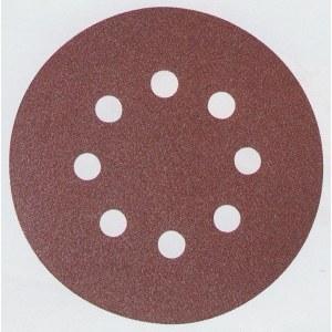 Hiomapaperi Velcro Backed 125 mm; K80; 10 kpl.