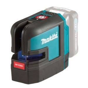 Ristilinjalaser Makita SK105DZ; 10,8 V (ilman akkua ja laturia)