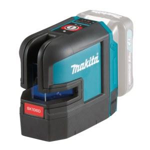 Ristilinjalaser Makita SK106DZ; 10,8 V (ilman akkua ja laturia)