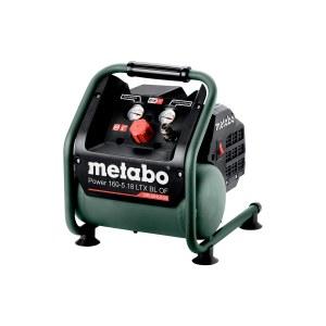 Akkukompressori Metabo 160-5 18 LTX BL OF; 18 V (ilman akkua ja laturia)
