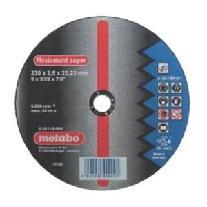 Hiova katkaisulaikka Metabo; 230x2,5 mm metalille
