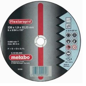 Hiova katkaisulaikka Metabo; 230x1,9 mm metalille