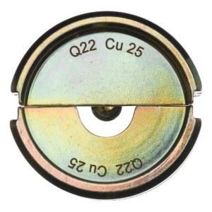 Matriisi Milwaukee Q22 CU 25