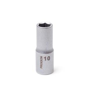 Kuusiohylsy Proxxon 23536; 3/8''; 10 mm; 46 mm