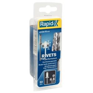 Niitit Rapid; 4,8 mm; 16 mm; 50 kpl.