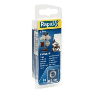 Niitit Rapid 8 mm; 25 kpl.