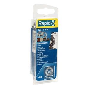Niitit Rapid 5000413; 23 mm; 12 mm; 25 kpl.