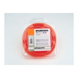 Leikkuulanka (1,6 mm/15 m) oranssi; pyöreä