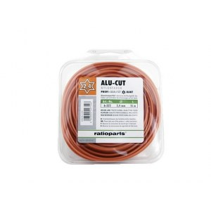 Leikkuulanka AluCutline (2,7 mm/15 m) oranssi; kuusikulmio