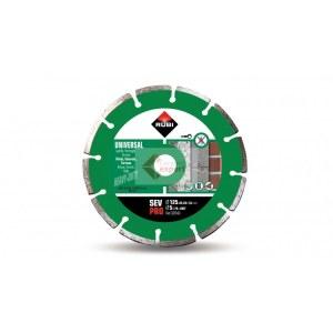 Timanttikatkaisulaikka kuivaleikkaukseen Rubi SEV 125 PRO; 125 mm