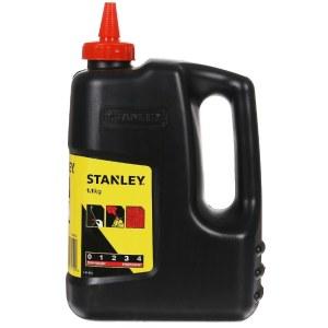 Merkintäliitu täyttöpakkaus, liitulanka / mittanauha Stanley; 1100 g; punainen