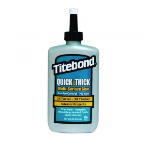 Yleisliima Titebond Quick & Thick Multi-Surface Glue; 237 ml