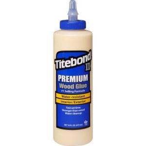 Puuliima Titebond II Premium; 474 ml