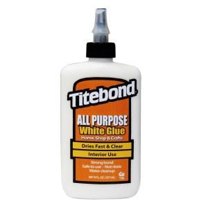 Yleisliima Titebond All Purpose White; 237 ml