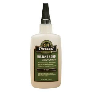 Pikaliima yleiskäyttöön Titebond Instant Bond Thick; 118 ml; viskoosinen