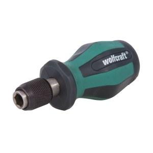 Ruuvimeisselin kahva Wolfcraft 1239000; 1/4''; 90 mm