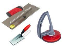 Mekaaniset laatoitustyökalut